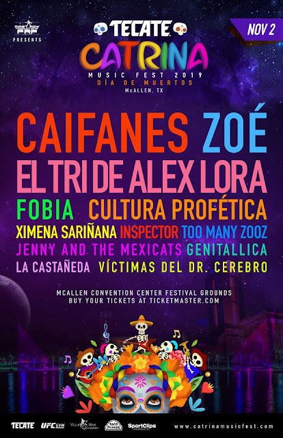 tecate catrina fest Macallen 2019
