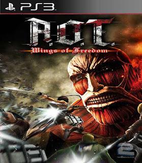 Attack on Titan Wings of Freedom PSN Baixar