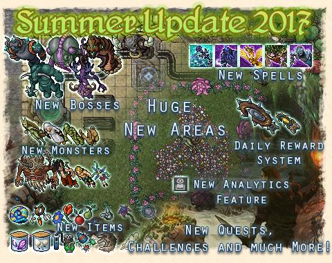 Acerca de la Summer Update de Tibia