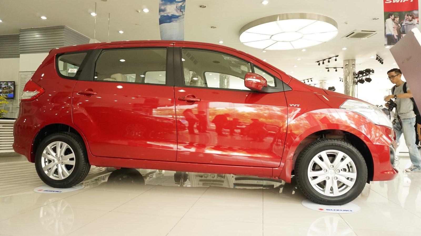 Suzuki Ertiga 2016 hứa hẹn sẽ tạo cơn sốt trong phân khúc xe gia đình giá rẻ, chỉ 639 triệu đồng