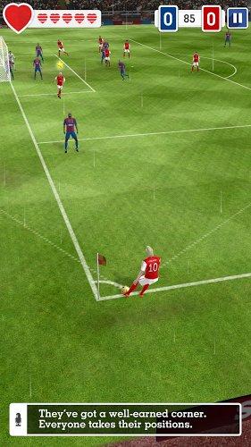 corner kick score hero gameplay
