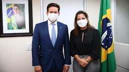 Mara Rocha solicita ao ministro da Cidadania doação de cestas básicas para ribeirinhos e comunidades indígenas do Acre
