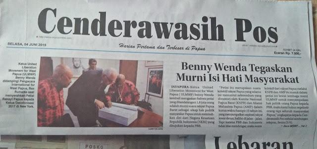 Buchtar Tabuni: 1.8 Juta Rakyat Papua Memilih Referendum, Bukan Otsus Papua Jilid II