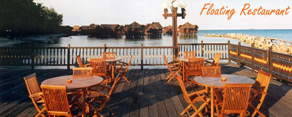 floating restaurant pulau ayer