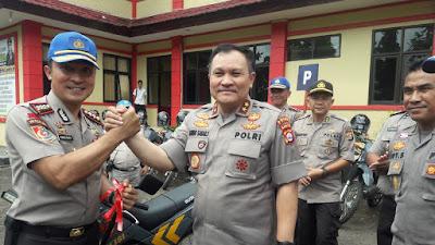 Kapolda Banten Serahkan 20 Unit Kendaraan Raimas Untuk Latihan Siswa SPN Mandalawangi