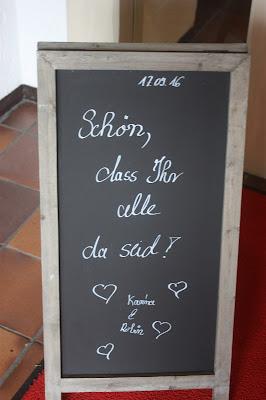 Willkommenstafel, Hochzeitsmotto aus M wird M, Pastell und Vintage im Riessersee Hotel Garmisch-Partenkirchen, Bayern