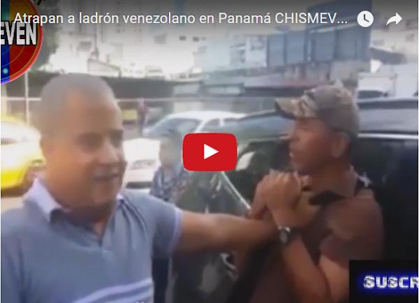 Atrapan a otro ladrón venezolano en Panamá