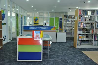 Perpustakaan untuk siswa Boarding School