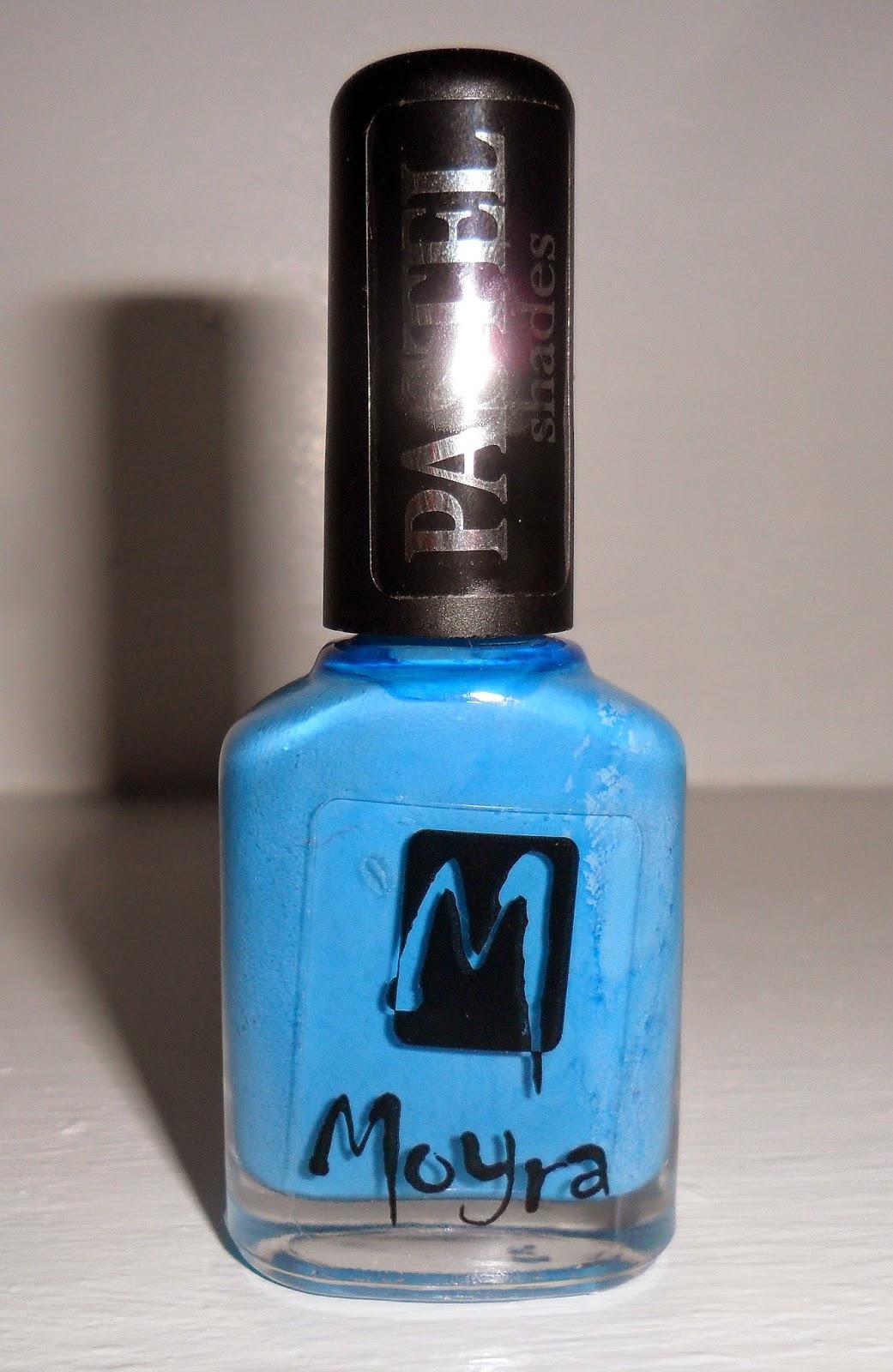 Moyra Pastel Shade Nail Polish, Nail Polish, Blue Nail Polish