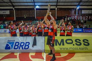 Flamengo Campeão Estadual Masculino de Basquetebol de 2021