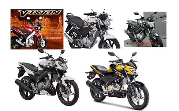 Generasi Lengkap Yamaha Vixion, Generasi Keluaran Tahun 2007 Hingga 2017