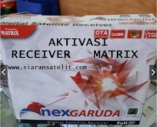 Aktivasi Matrix garuda