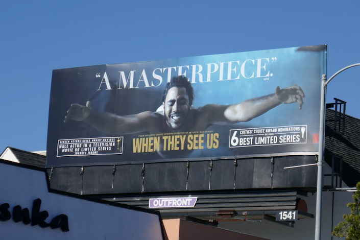 When They See Us Critics Choice billboard