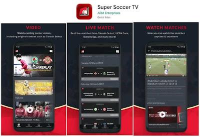 aplikasi live streaming piala dunia 2019