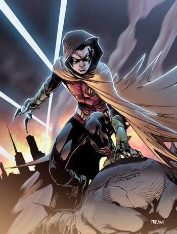 Damian Wayne es Robin y el hijo de Batman