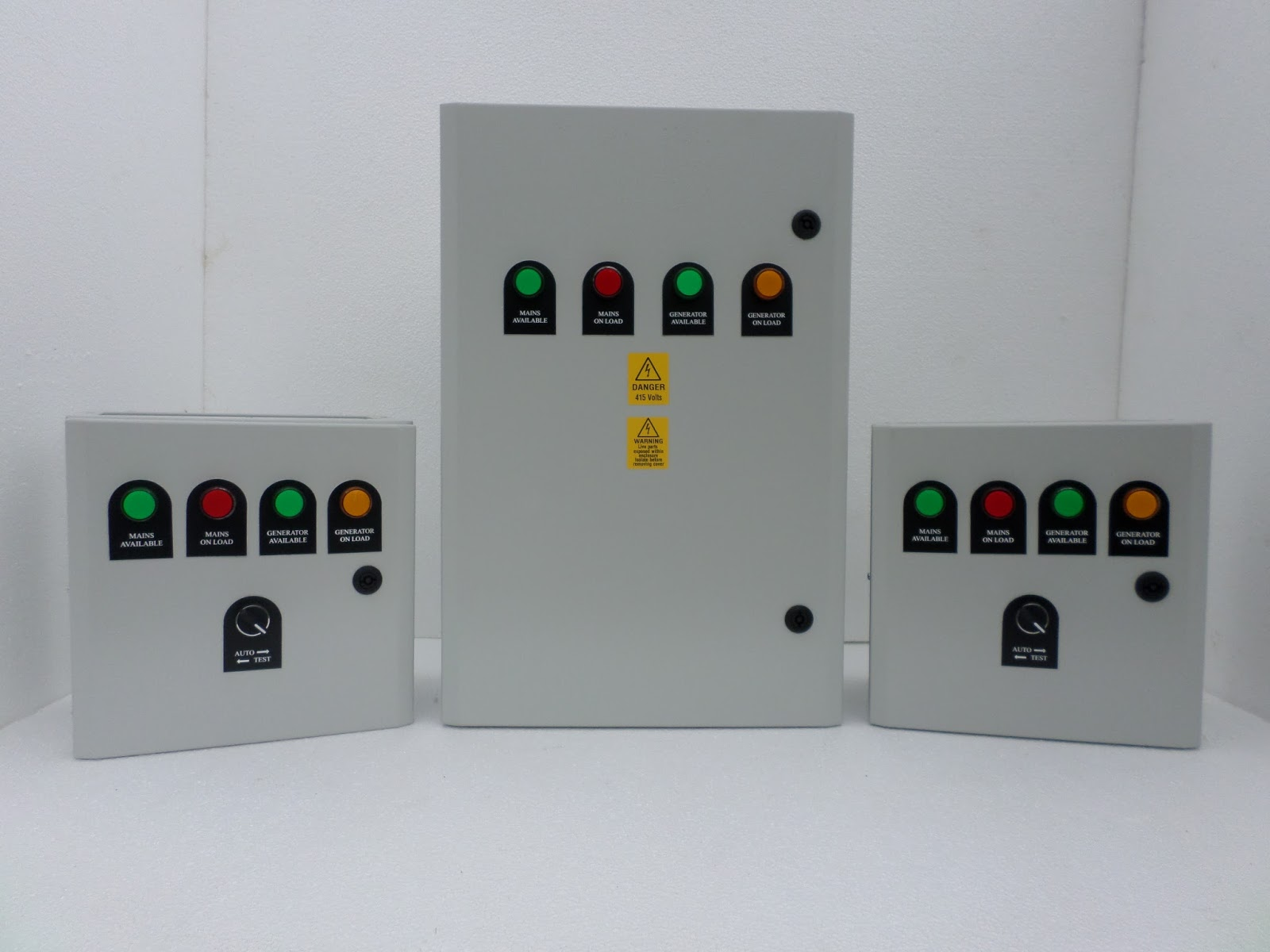 The Blades Power 100 Amp, 3 Pole Compact Automatic Transfer Switch Panel is  an ideal choice for Home usage, because of its size.