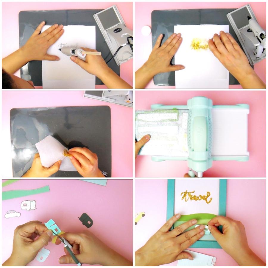 Come creare una scritta con la Colla a Caldo