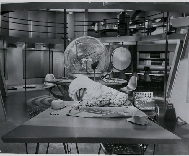 Fotografías del rodaje de Planeta prohibido detrás de las cámaras