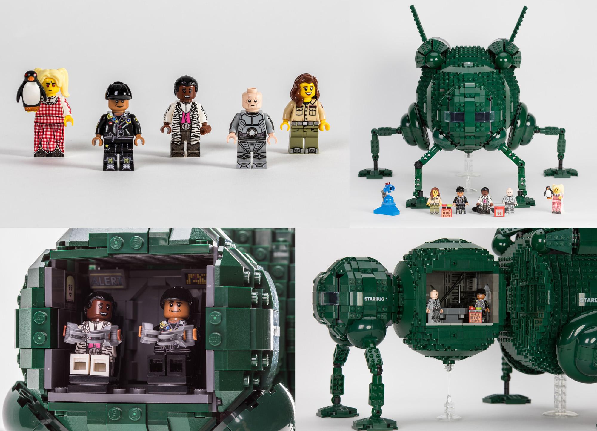 宇宙船レッド・ドワーフ号のスターバグがレゴ(LEGO)アイデア製品化レビュー進出!2020年第3回1万サポート獲得デザイン紹介