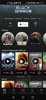 Cara Membuka Netflix yang Diblokir Operator Telkomsel dan Indihome Menggunakan Aplikasi Intra di Android.