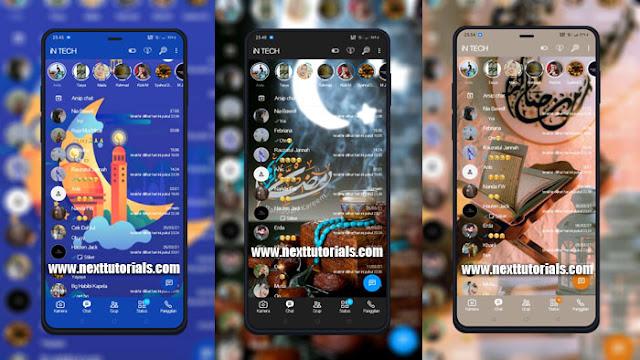 Kumpulan Tema WhatsApp Aero v8.86 Special Bulan Suci Ramadhan 2021,bagi bagi tema wa aero keren terbaru 2021,download wa mod anti banned