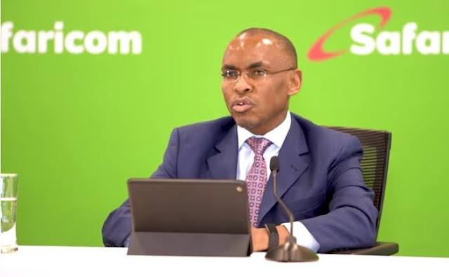 Safaricom CEO; Ndegwa
