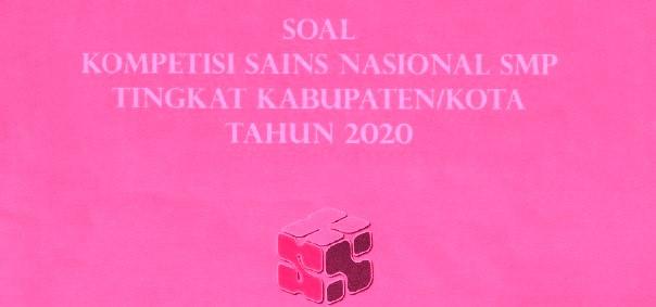 SOAL KSN SMP 2020 IPS