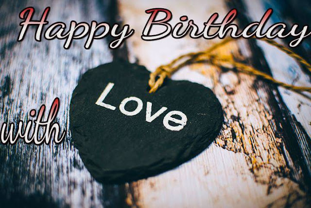 Happy birthday with love pic