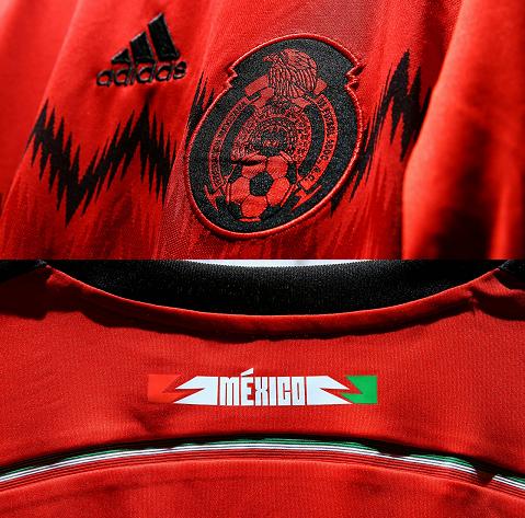 Adidas divulga camisa reserva do México para a Copa do Mundo - Show ... bf6aa0cb93b42