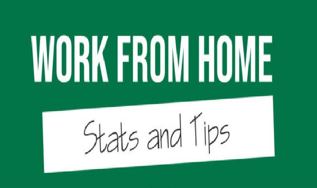 Work From Home Stats and Tips #infographic