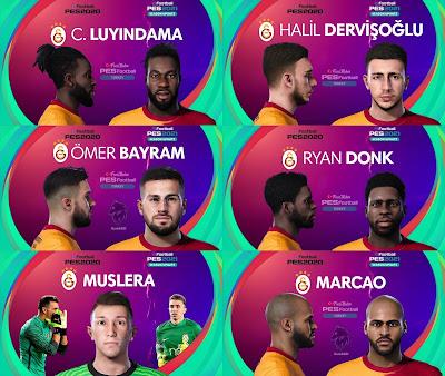 PES 2021 Galatasaray Facepack by PES Football Turkey
