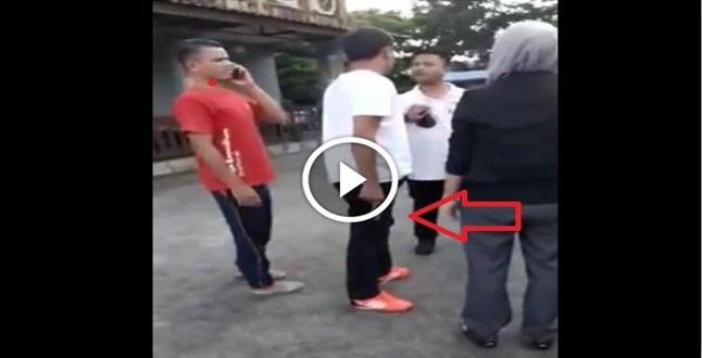 [VIDEO] VIRAL Bawa Keluar Bini Orang Tanpa Pengetahuan Suami. Dah Kantoi Acukan Pistol Pulak !!!