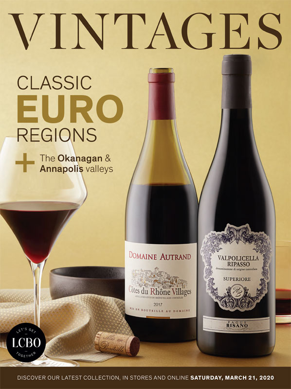 LCBO Wine Picks: March 21, 2020 VINTAGES Release