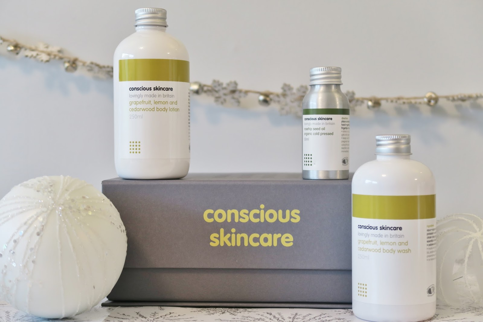 Amber's Beauty Talk Christmas Gift Guides | Conscious Skincare Luxurious Body Set