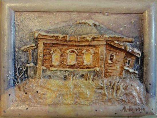 Ανάγλυφοι Πίνακες - Κάδρα από Χαρτόνι
