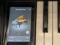 Kawai Novus hybrid and Concert series touch screen interfac