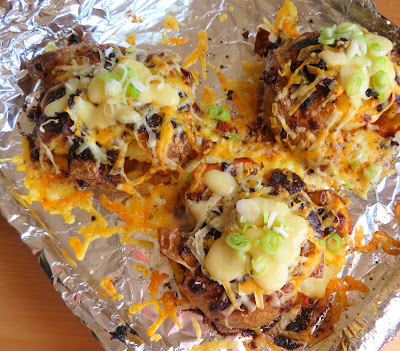 Tex Mex Smashed Potatoes