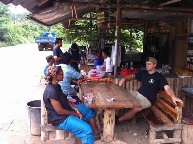 Descansando antes de volver a Chian Mai centro