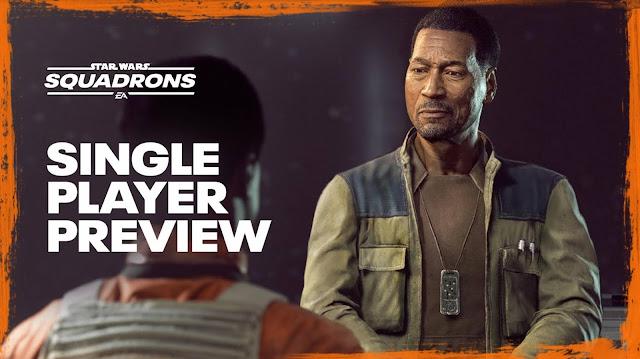 Découvrez en exclusivité la bande-annonce du nouveau mode solo de Star Wars™: Squadrons