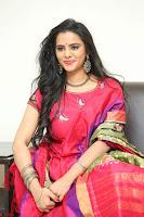 Manasa in Pink Salwar At Fashion Designer Son of Ladies Tailor Press Meet Pics ~  Exclusive 44.JPG