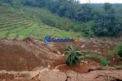 Bencana Longsor di Singajaya Garut, 9 Rumah Dalam Keadaan Terancam