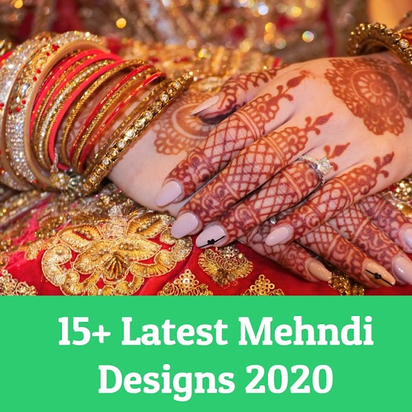 Very Easy 15+ Mehndi Designs Front - Latest Mehndi Designs 2020 - Mehndidesigns.info