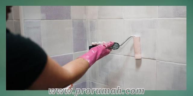 cara menata dekorasi kamar mandi - mengganti warna cat dinding