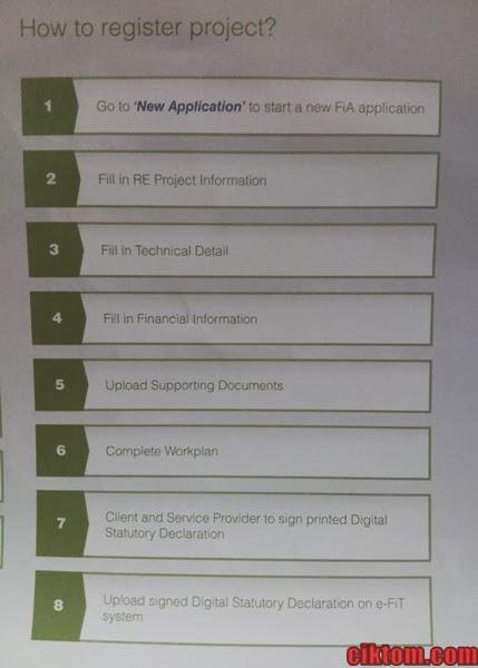 Cara register project