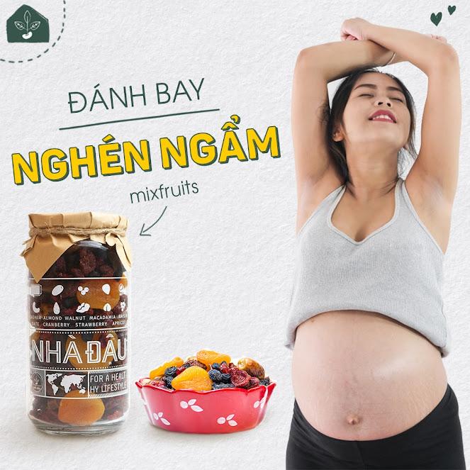[A36] Bí kíp chọn đồ ăn vặt giúp Mẹ Bầu sinh Con khỏe mạnh