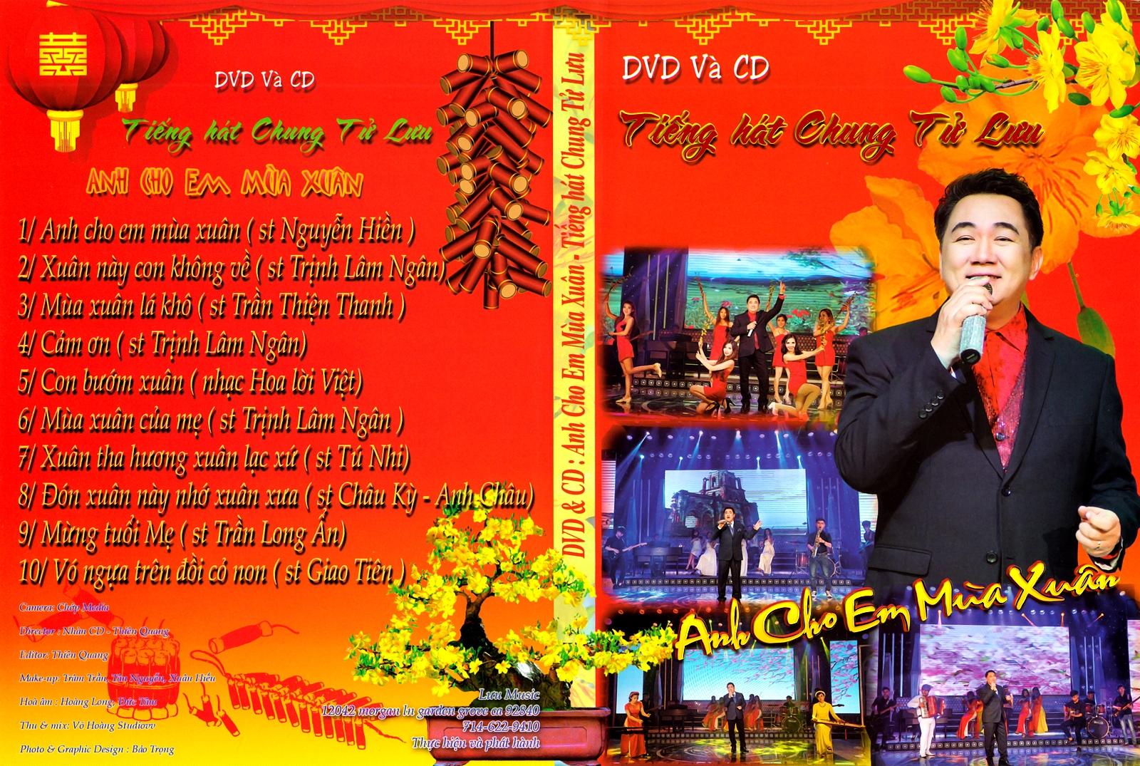 Ca Dao DVD - Chung Tử Lưu - Anh Cho Em Mùa Xuân (ISO)