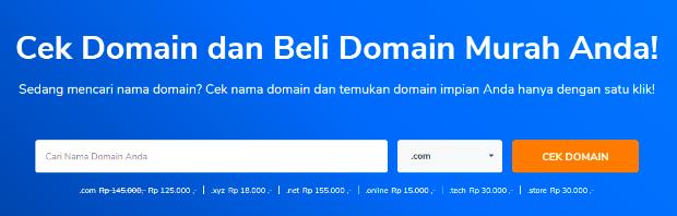 Cara Membeli Domain Website di Niagahoster dengan Metode Bank Transfer