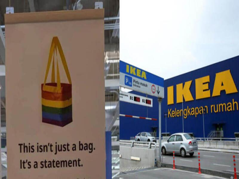 IKEA Kvantig LGBTQ Bag