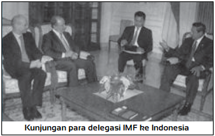 Contoh Badan Kerja Sama Ekonomi Multilateral IMF (International Monetary Fund)