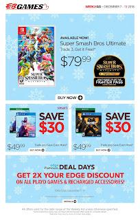 EB Games Flyer December 7 - 13, 2018